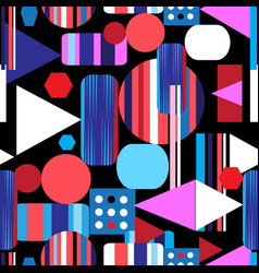 abstract bright multicolored pattern different vector image