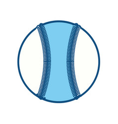 Baseball ball isolated vector