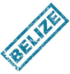 Belize rubber stamp vector