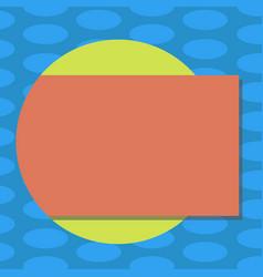 Business concept empty template copy space vector