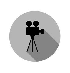 camera video icon vector image