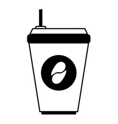 Coffee drink cartoon vector