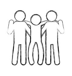 Pictogram people design vector