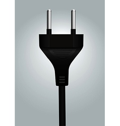 Power plug wire vector