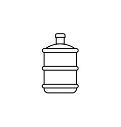 Water gallon icon design template isolated vector