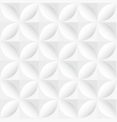 White decorative geometric texture - seamless vector
