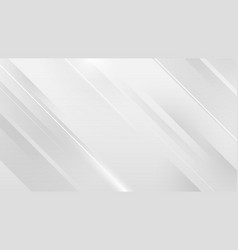white square shape abstract technology concept vector image