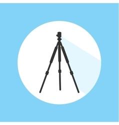 Camera Tripod Digital Technology Equipment Pro vector image