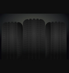 car tires background vector image