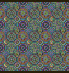 Geometrical concentric circle pattern background vector