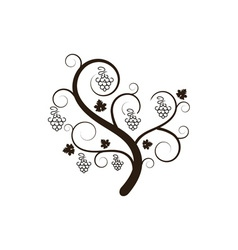 grape-tree vector image