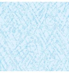 Mathematics background with formulas EPS 10 vector image
