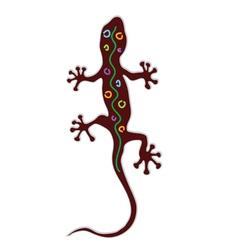 salamander color vector image