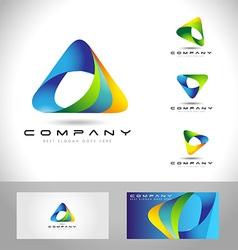 Triangle Logo Concept vector image