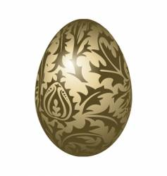 egg pattern vector image vector image
