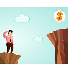 thinking to get success vector image vector image