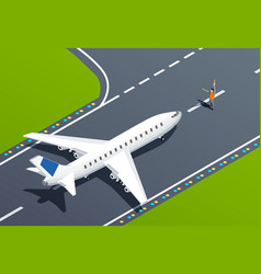 Airport isometric vector