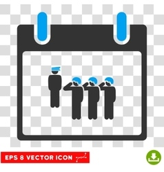 Army Squad Calendar Day Eps Icon vector