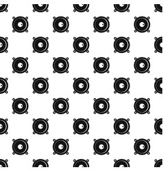 Audio speaker pattern vector