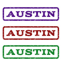 Austin watermark stamp vector