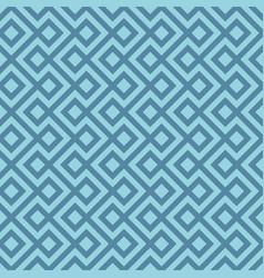 Blue linear weaved seamless pattern vector