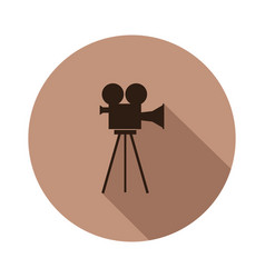camera video icon vector image