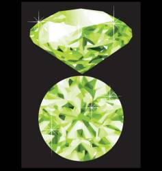 emerald vector image