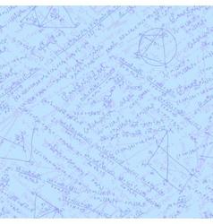 Formulas Seamless background EPS 10 vector image
