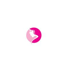 health beauty logo icon vector image