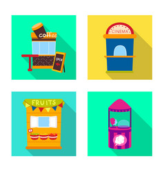 Isolated object amusement and store logo vector