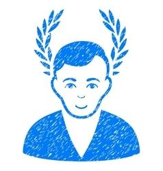 Man Glory Grainy Texture Icon vector