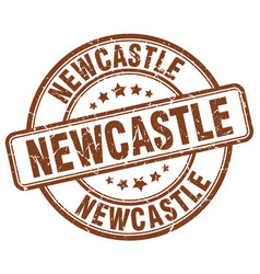 Newcastle stamp vector
