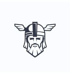 Odin Sport Team or League Logo Template vector image