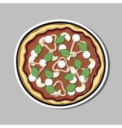 PizzaSticker4 vector