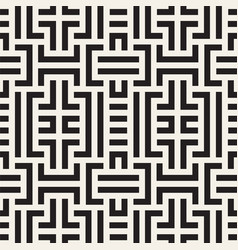 seamless geometric pattern mode striped vector image