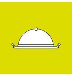 tray icon design vector image