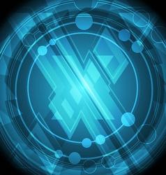 Modern cross symbol background vector