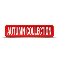 Autumn collection vector