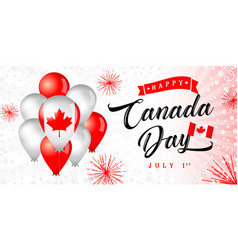 Canada 1 july independence day vector