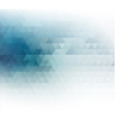 Color abstract geometric banner with vector