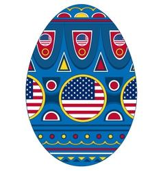 Egg USA vector