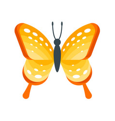Flat style of butterfly vector