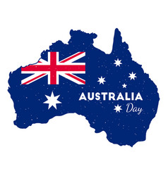 Happy australia day vector