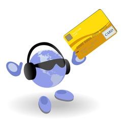 money world vector image