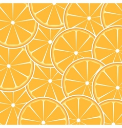 Orange fruit abstract background vector image vector image