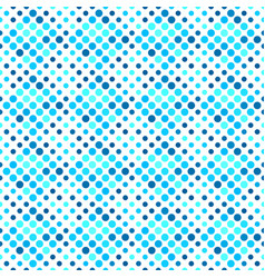 seamless blue abstract dot pattern background vector image