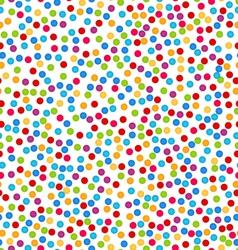 Seamless pattern with confetti fun colorful vector