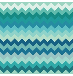 Teal chevron seamless pattern vector