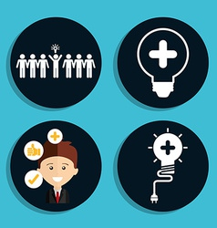 Think icons vector