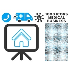 Free Gift Offer Icon with 1000 Medical Business vector image vector image